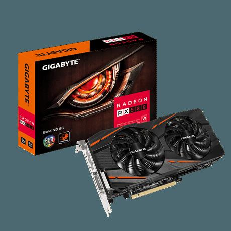Rx 580 gigabayte