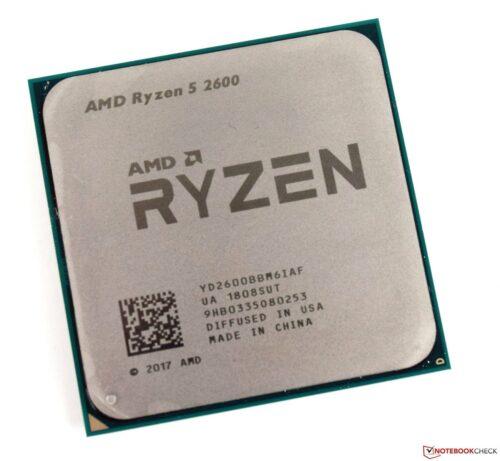 CPU Ryzen 2600