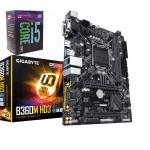 """باندل   """"GIGABYTE B360 HD3  With   I5 8400  """"NEW"""