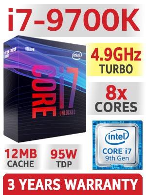 CPU i7 9700K