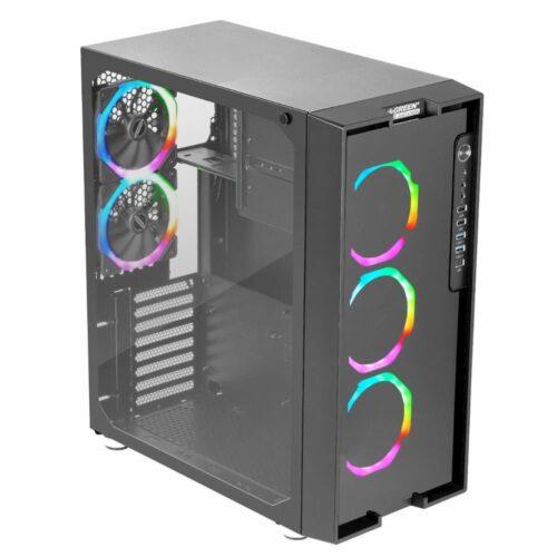 مشخصات قیمت و خرید بدنه کیس کامپیوتر گرین Z6 ARTEMIS RGB